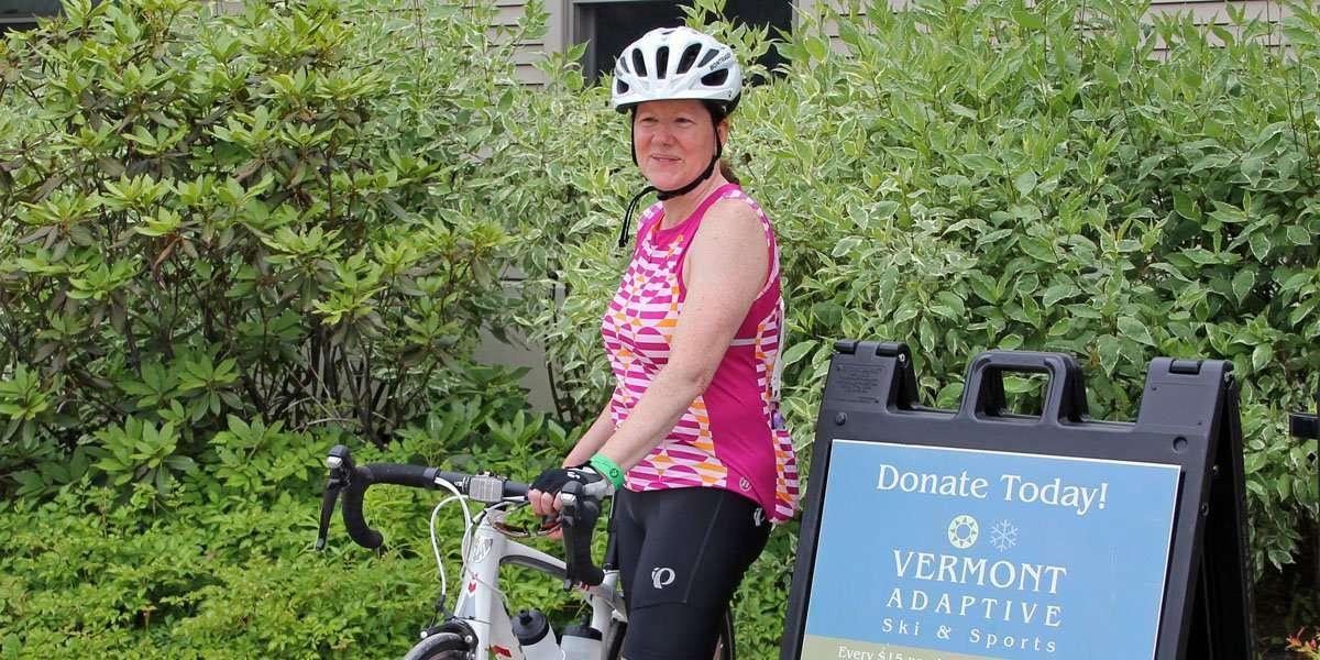 Leesa Schipani Biking