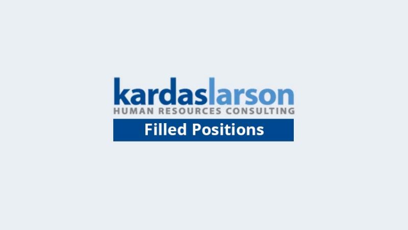 KardasLarson Filled Positions