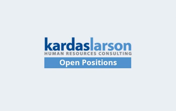 KardasLarson Open Positions