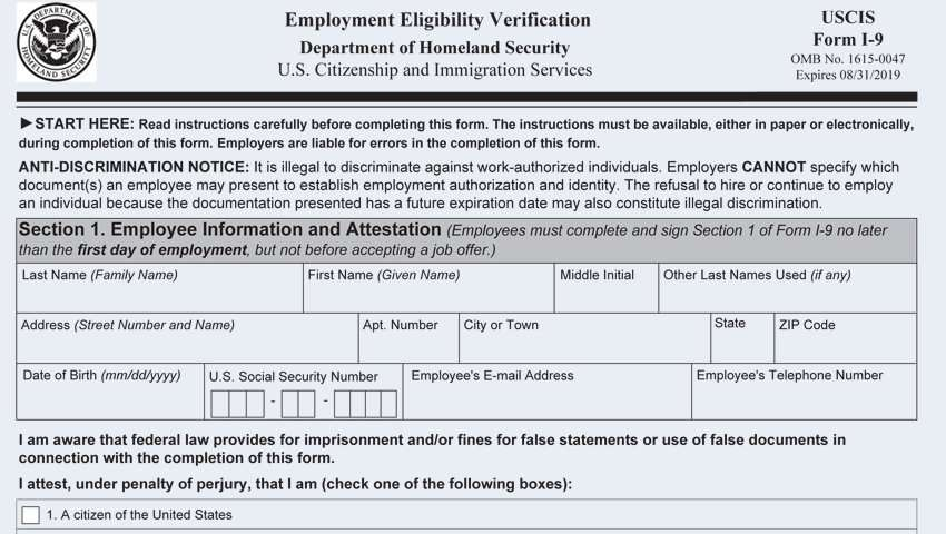 vbs certificate template  USCIS Revises Form I-7, Again | KardasLarson Human Resources ...