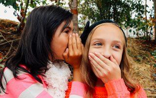 Kids Telling A Secret