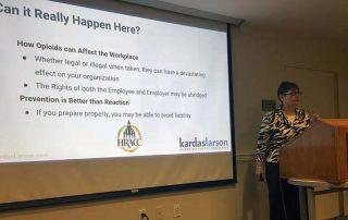 Lois Krause Speaking at CTEMA